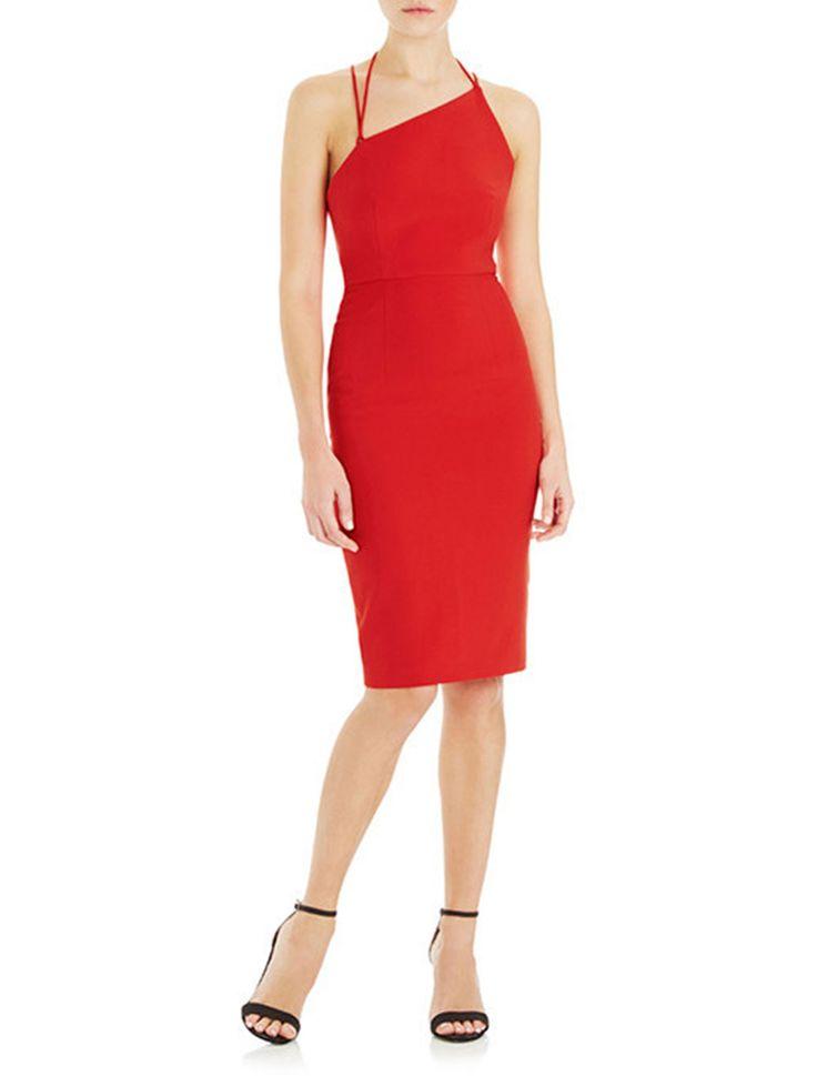 Watson X Watson - Gigi One Shoulder Dress - Red