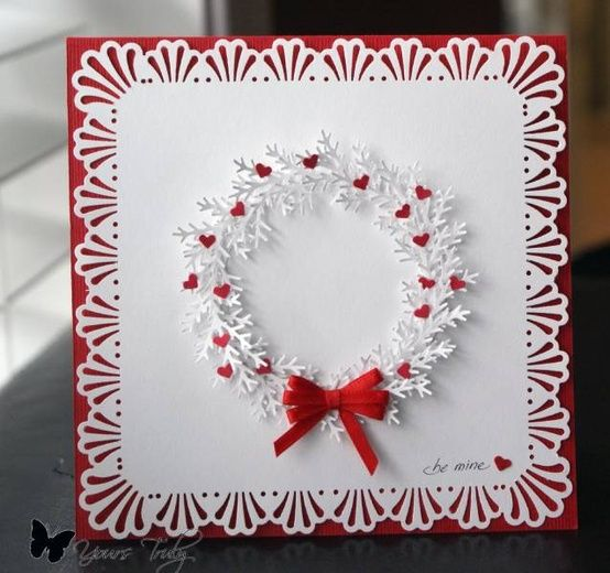 123 best valentine 39 s day card ideas images on pinterest for Designs for valentine cards