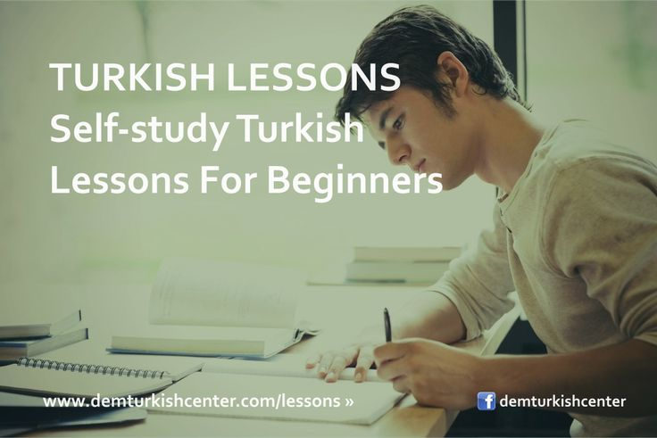 #Learn #Turkish yourself with self-study #TurkishLanguage course for beginners