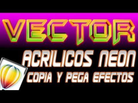 Acrilicos Neon