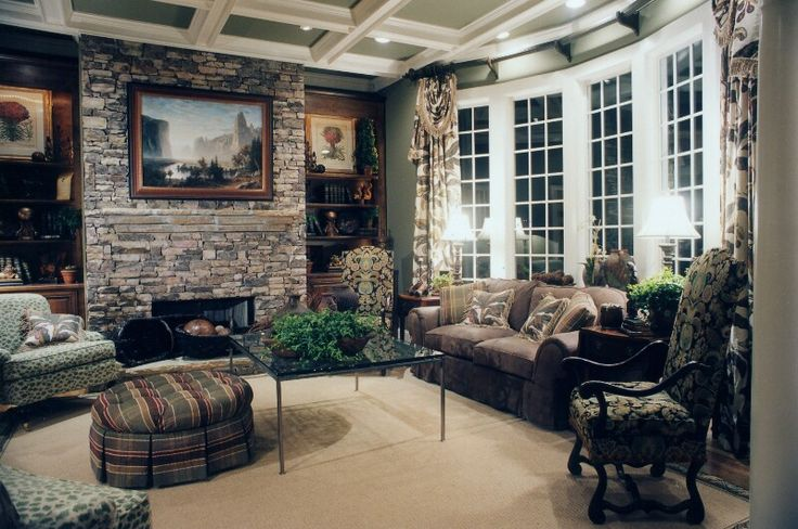 comfortable family room furniture home decor family room large family rooms #FamilyRoom
