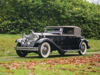 Packard Deluxe Eight Convertible Victoria – 1931