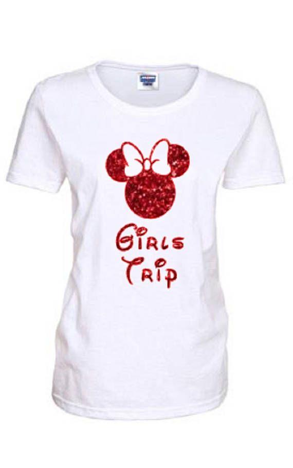 Girls Trip Shirt Disney Group T Shirt Minnie Mouse Shirt