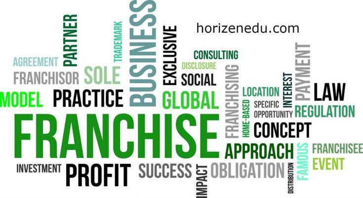 Franchise businesses definition characteristics