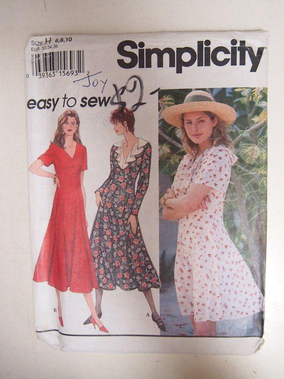 Vintage 1994 Simplicity Misses/Miss by VintageTwistsPattern, $3.00