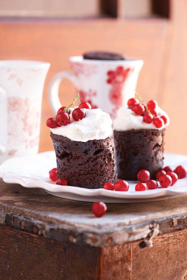 Is jy nou lus vir sjokoladekoek, maar jy het nie tyd om een te bak nie?Hier is die oplossing –'n koek in net 5 minute in jou mikrogolfoond. Dis maklik, dis lekker en jy hoef nie lank te wag nie! …