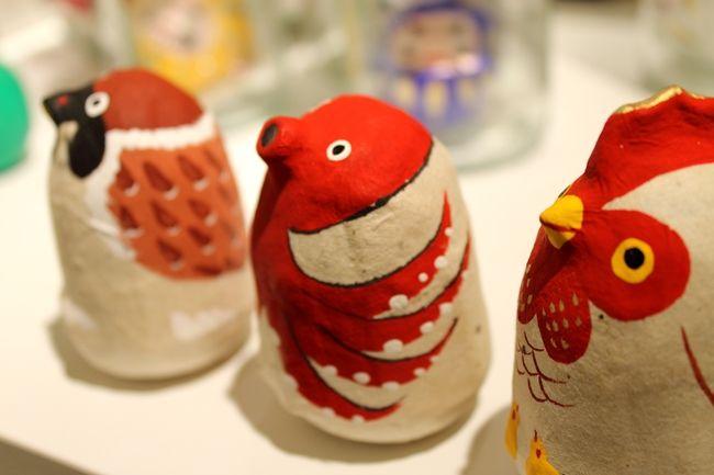 何かを挑戦する方へのプレゼントに かわいい「六原張り子の起き上がり小法師」 | 阪急阪神百貨店・ライフスタイルニュース