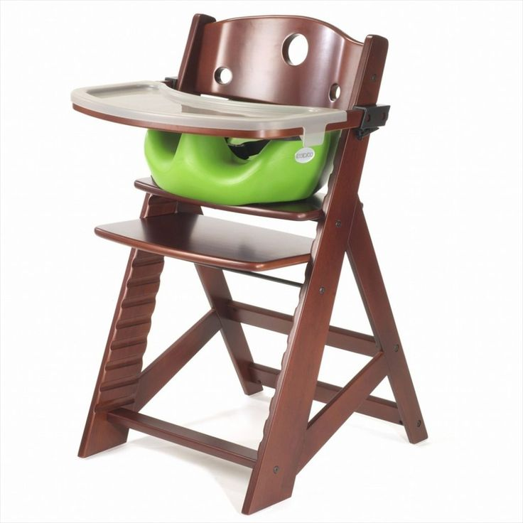 Wood High Chair Plastic Tray