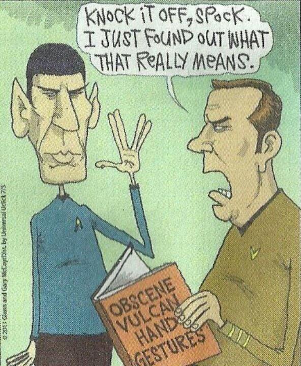 Star Trek humor