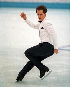Kurt Browning: balance and focus.