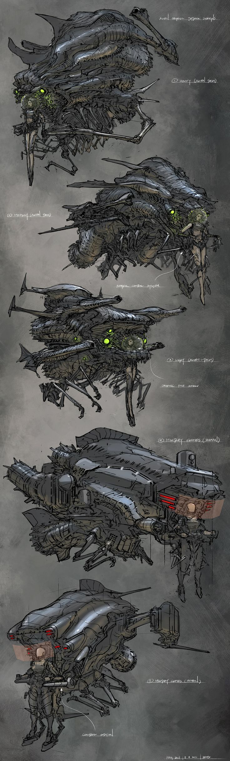 Feng Zhu living ship art. F-ing sick and awesome.
