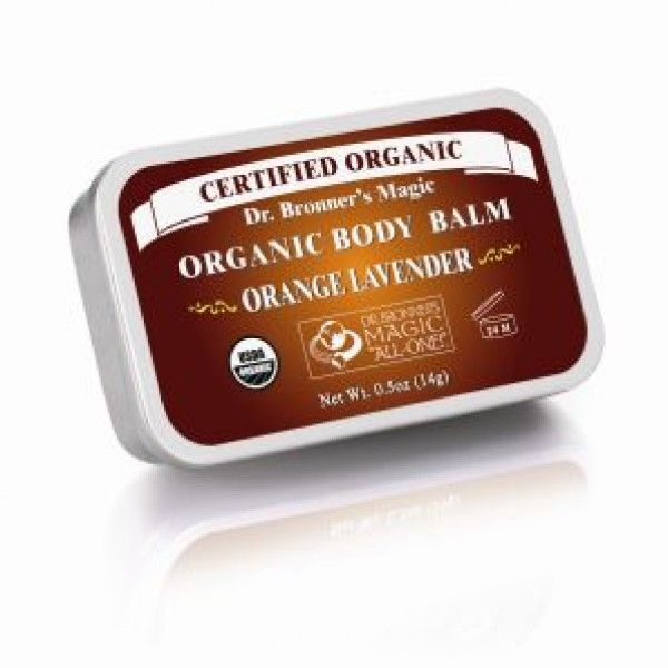 Dr Bronners Organic Body Balm contains organic jojoba, avocado and hemp oils to soothe dry skin anywhere. Excellent for protecting and brightening new and old tattoos.