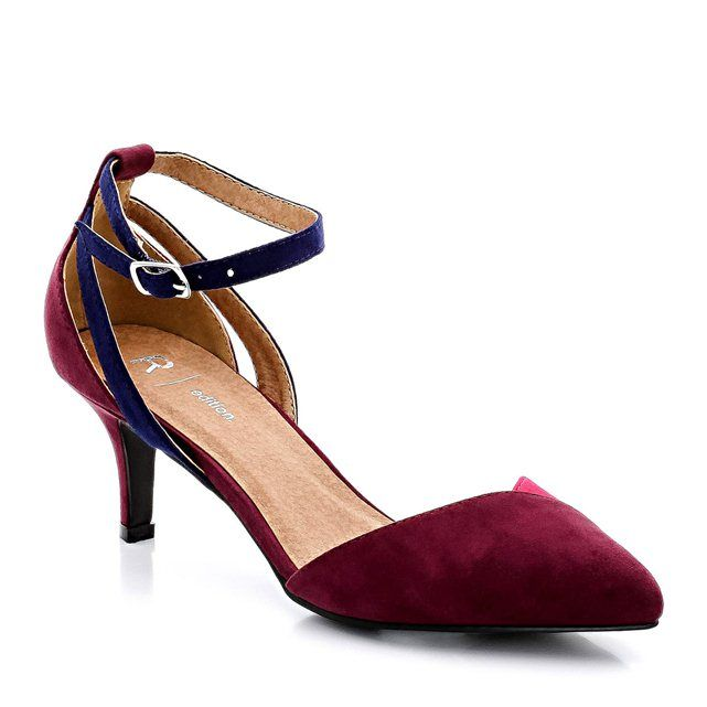 Multi-Coloured Court Shoes with 5.5 cm Heel R edition