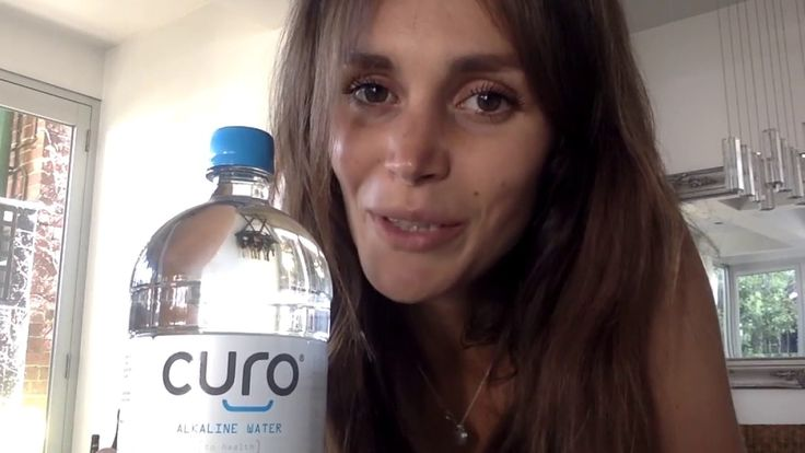 Hear why model and PT Olivia Arezzolo hydrates with Curo Alkaline Water