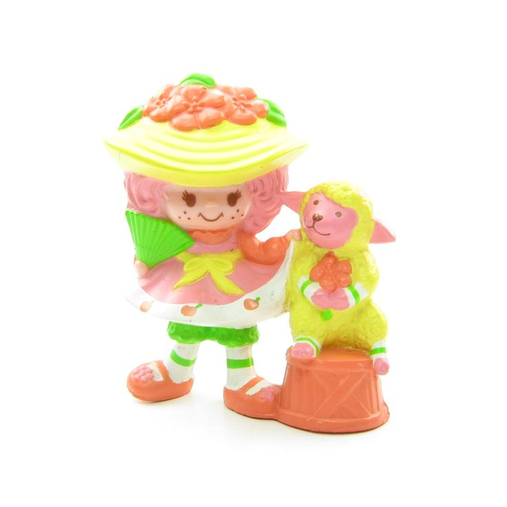 Peach Blush with Melonie Belle Strawberry Shortcake miniature figurine