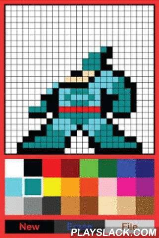 8-Bit Paint (8 Bit Creator)  Android App - playslack.com ,  Latest update: File can be saved for editingAre you a fan of 8-bit art, or want to have ones for yourself?8-Bit Paint is a DIY image creator that allows you to simply create any character style in 8-bit way, which you can save as a photo for any further usages e.g. show it to your friend, pose it on Facebook, use for your game production etc.The app is easy to use, with prepared most-used color palettes and board size which you can…