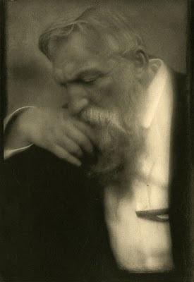 Auguste Rodin (1840-1917). Photogravure by Edward J. Steichen, 1911.