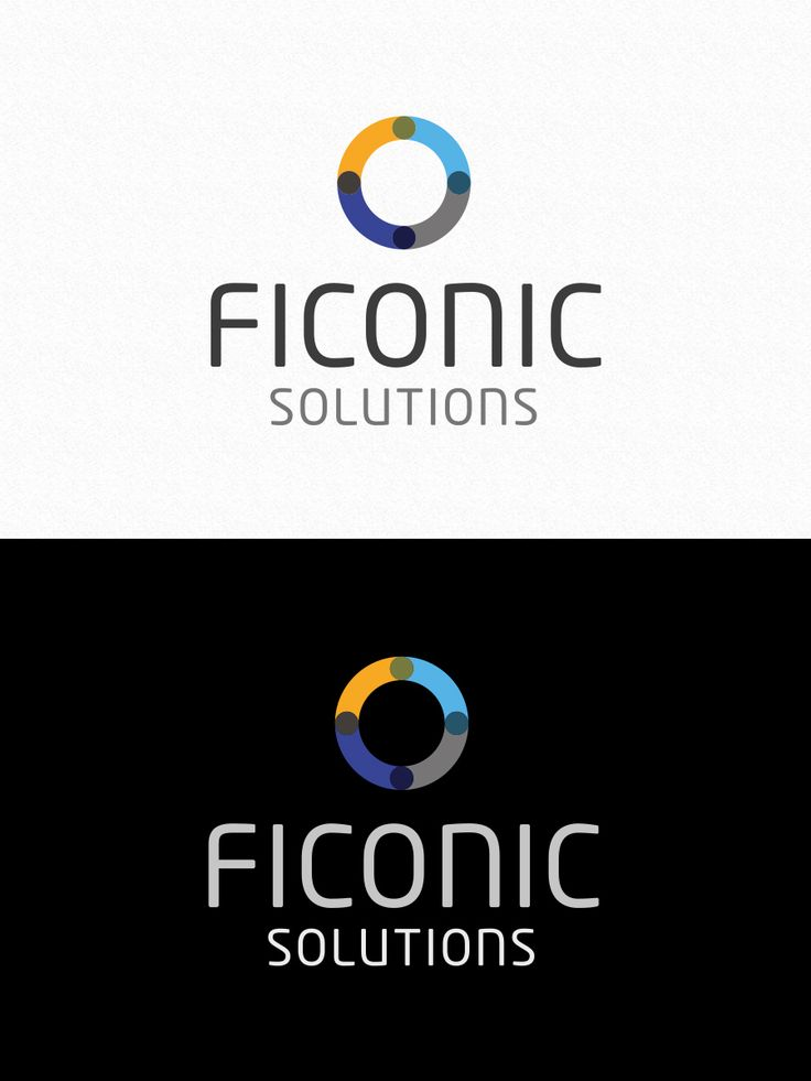 Logo design for Ficonic Solutions - Finland - by Pennanen Design