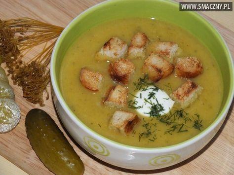 zupa ogorkowa krem