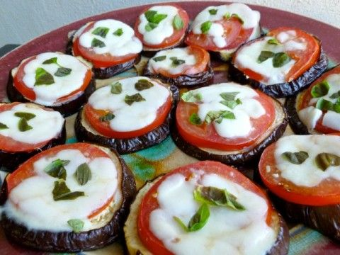 Easy Healthy Skinny Baked Eggplant Parmesan Melts: Weight Watchers Friendy Recipes | Simple Nourished Living