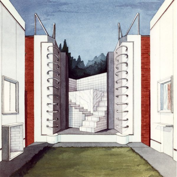 Taberna Ancipitas Formae Natchez, Mississippi. USA. 1983 Architects: Rodolfo Machado and Jorge Silvetti