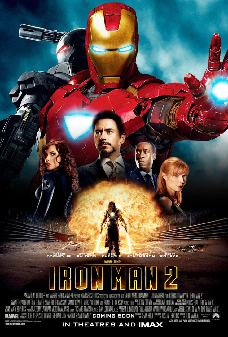 iron man movie poster signed