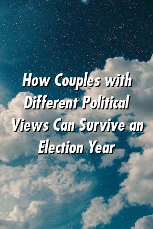 Como casais com diferentes visões políticas podem sobreviver a um ano eleitoral   – Love Hunt