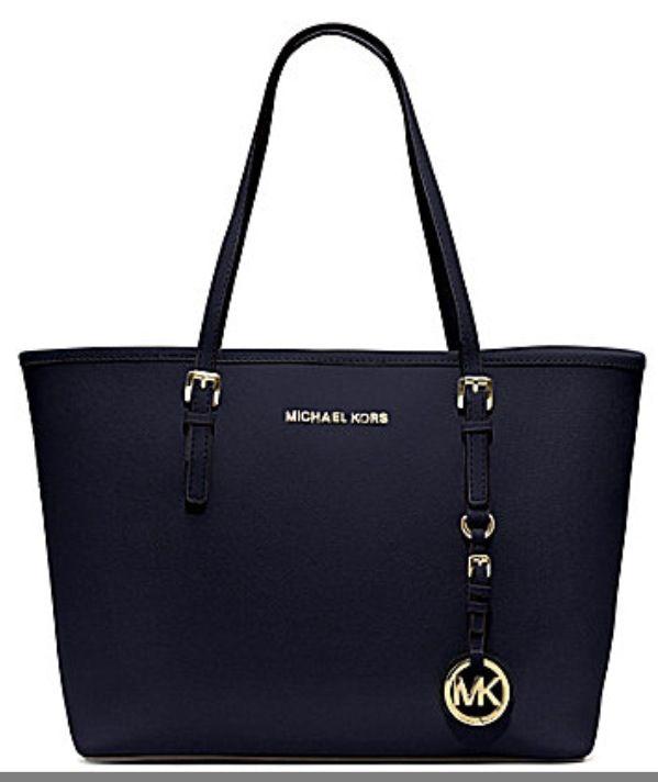 Navy blue Michael Kors bag!! Love it