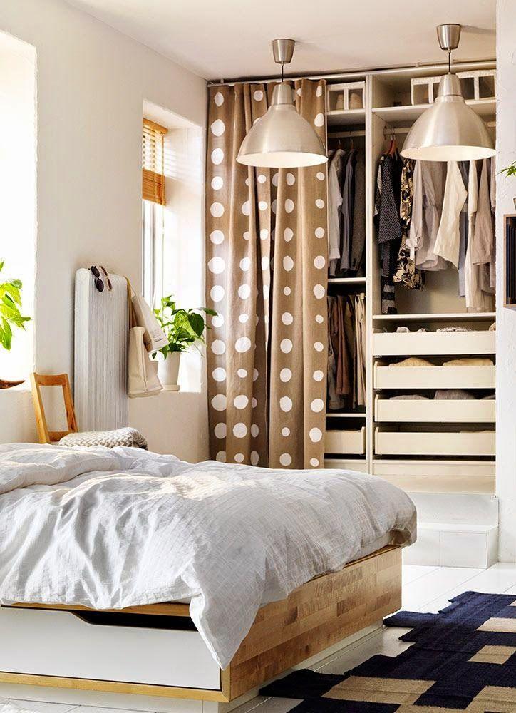 17 mejores ideas sobre cortinas para puerta de armario en - Cortinas para pasillos ...
