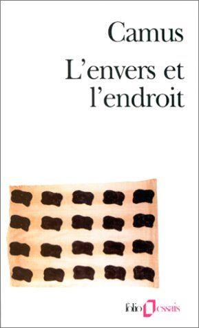 L'envers et l'endroit - Albert Camus