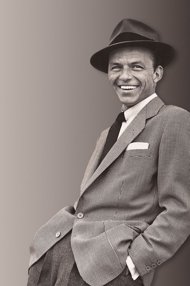 Frank Sinatra (12/12/15 - 5/14/98) American singer and film actor. Beginning his musical career in the swing era with Harry James and Tommy Dorsey, Sinatra became an unprecedentedly successful solo.