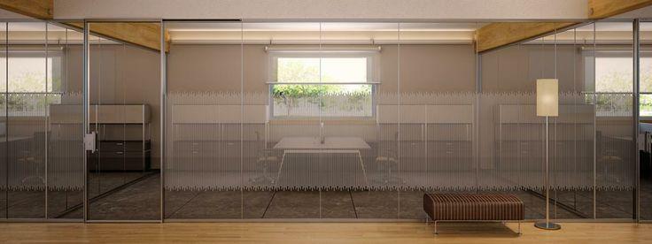 Estel iberica office furniture mamparas oficina slimbox for Mamparas de oficina