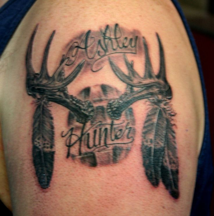 Best 25+ Deer antler tattoos ideas on Pinterest | Antler ...