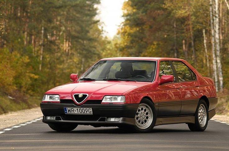 welovealfa: regram @valverdeled_automocion Alfa Romeo 164 Q4 - Aquellos maravillosos años. http://ift.tt/1SZPvJf
