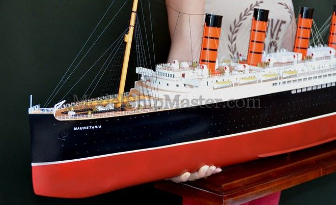 RMS Mauretania model