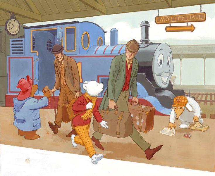 Rupert and Friends by JoriB on DeviantArt