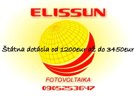 ELISSUN   Fotovoltaika