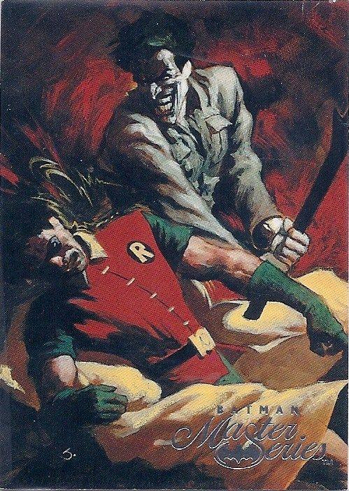 Joker vs Robin by Scott Hampton