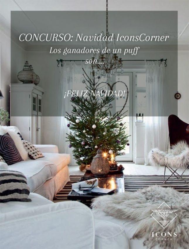 GANADORES #concurso #NavidadIconsCorner. ¿Serás tú? ¡#FelizNavidad DECOLovers! ❤