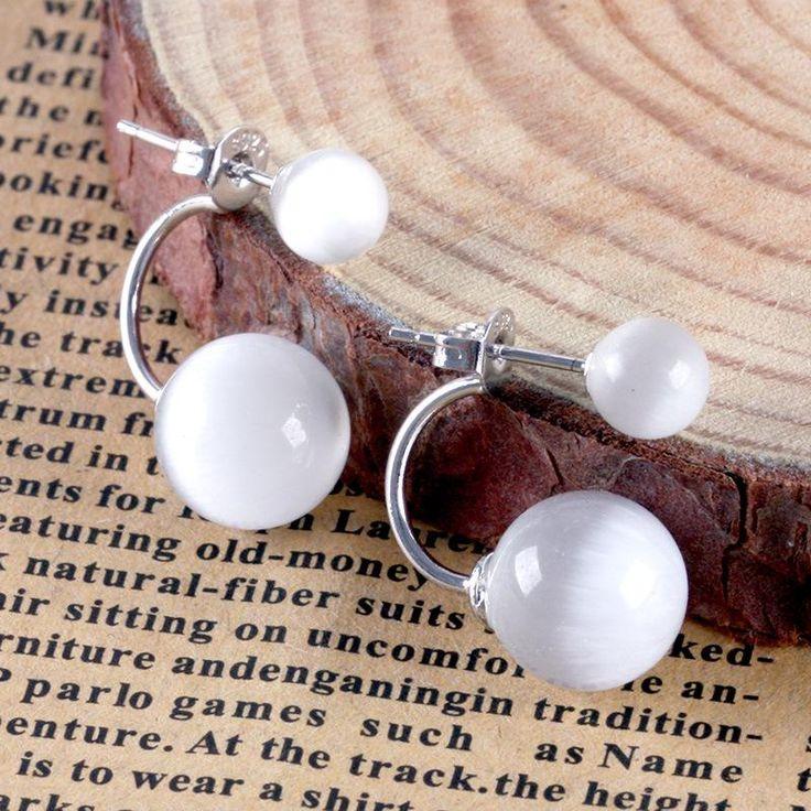 Aliexpress.com :  925 sterling silber ohrstecker weibliche modelle opal schmuck geschenk hochzeit hotel nachtclub frauen schmuck von verlässlichen jewelry mesh-Lieferanten auf Sterling silver jewelry Brands factory outlets kaufen