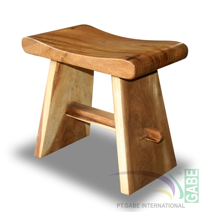 STOOL SHOGUN SHANG WOOD ID14083
