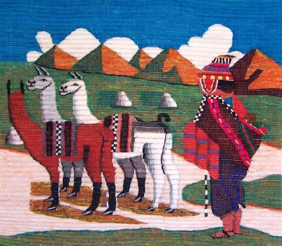 Arazzo Peruviano