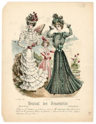 1895-1898, Tafel 172 :: Costume Institute Fashion Plates