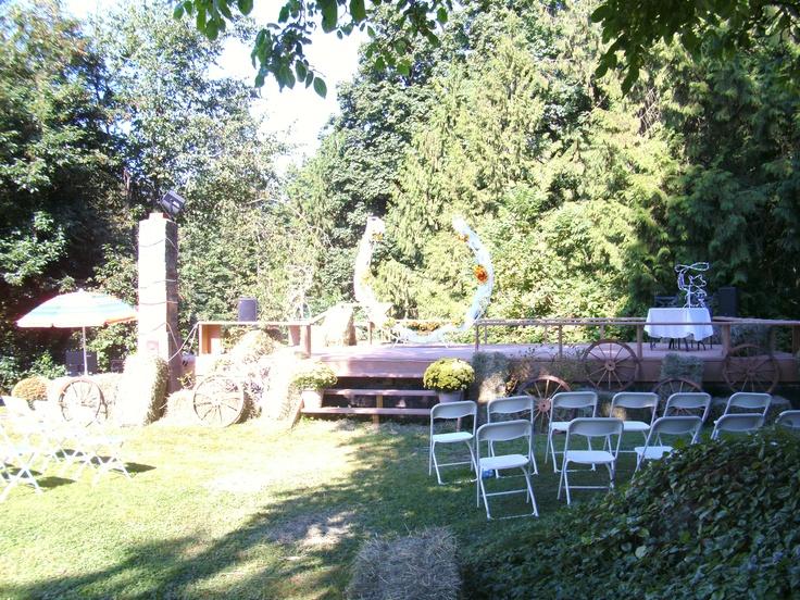Ceremony area- Joey & Brian (Sept '11)