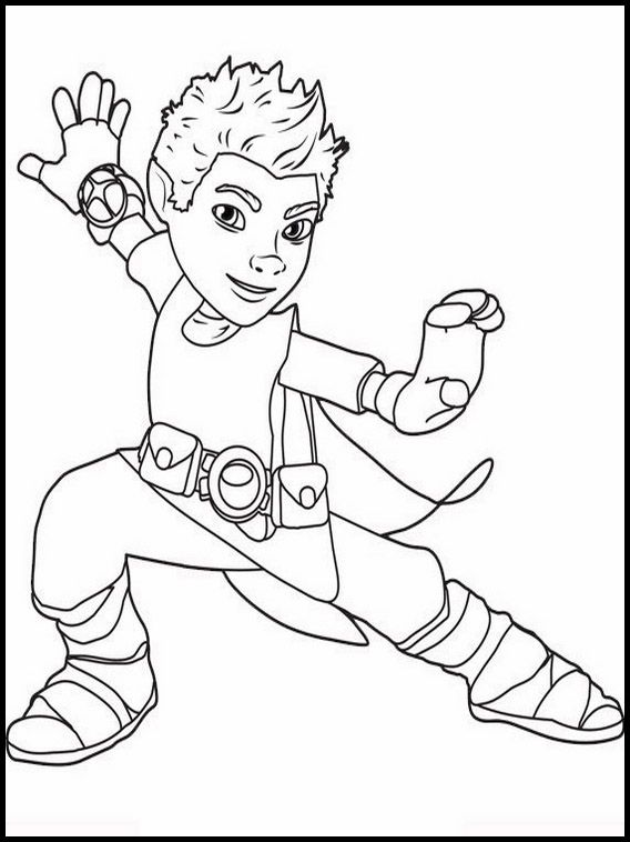 Tree Fu Tom Printable Coloring Pages 11 With Images Tree Fu