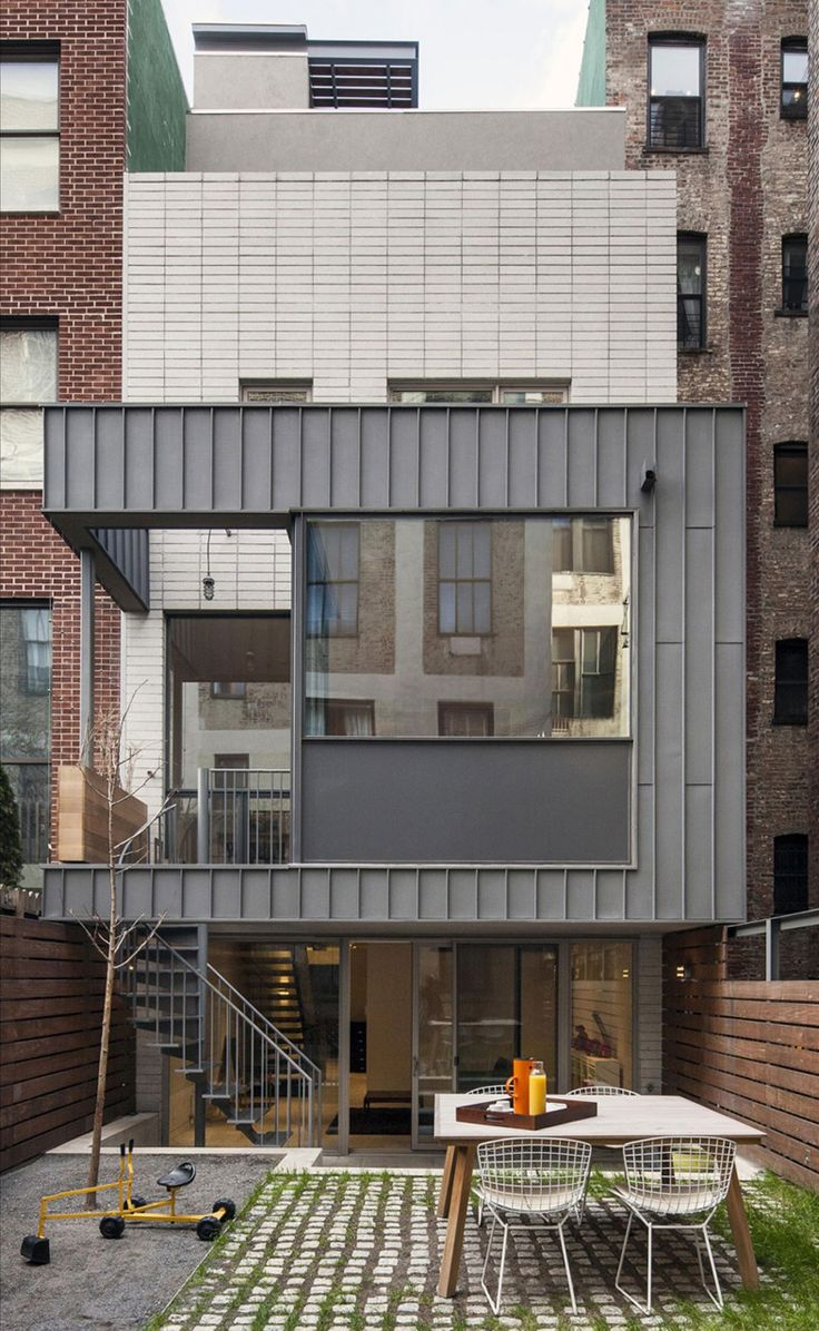modern townhouse in new york city by ben hansen architect