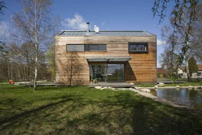 Vidiecky dom, ktorý ladí so svojím okolím | Rodinné domy | Stavby | Architektúra | www.asb.sk
