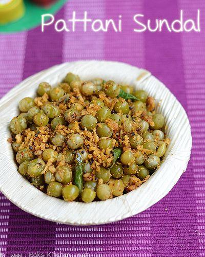 pattani sundal recipe with sundal podi recipe. Simple yet spicy recipe!