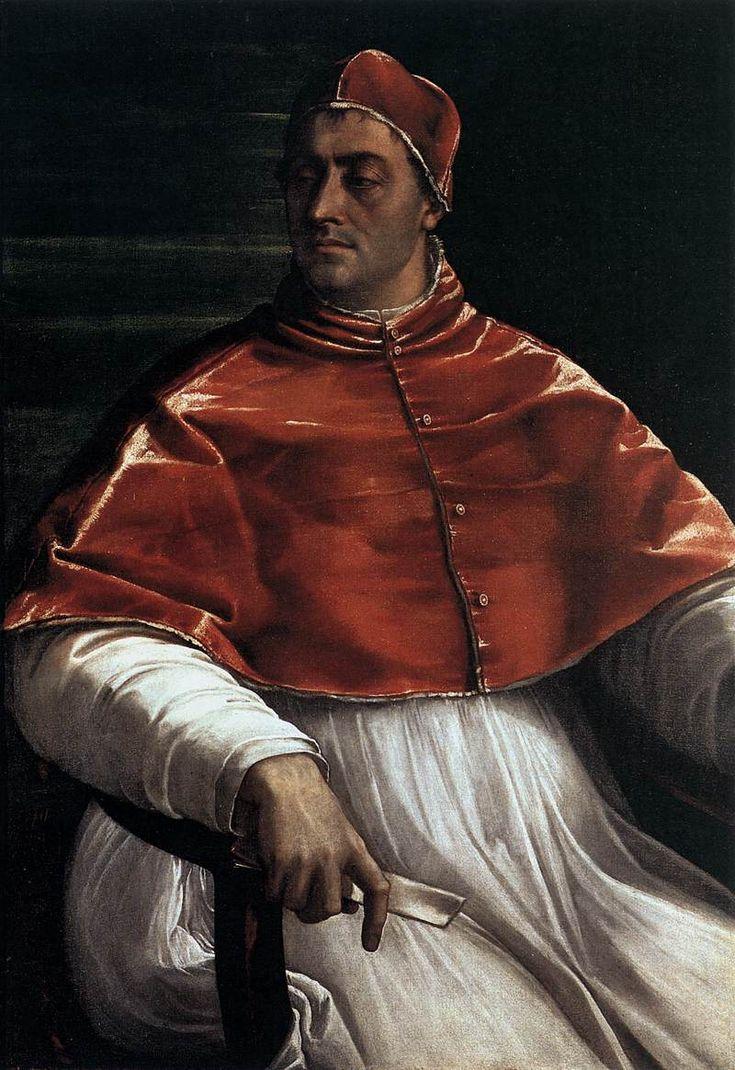 SEBASTIANO DEL PIOMBO Pope Clement VII 1526 Oil on canvas, 145 x 110 cm Museo e Gallerie Nazionali di Capodimonte, Naples