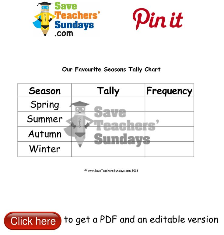23 besten Seasons lesson plans, worksheets and teaching resources ...